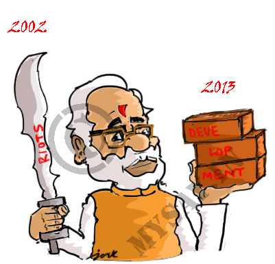 narendra modi cartoon image,