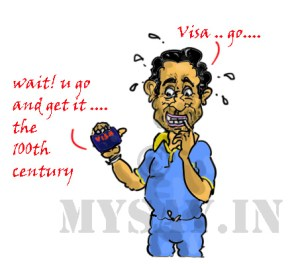 sachin tendulkar cartoon image,