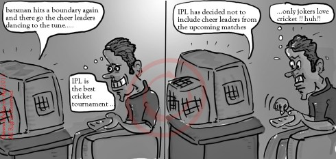ipl cartoon ,