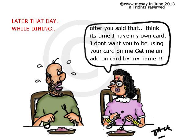 Husband Wife Mysayin Cartoons Doodles Quotes For T Shirts