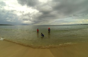 Indonesia - Fishing before the storm