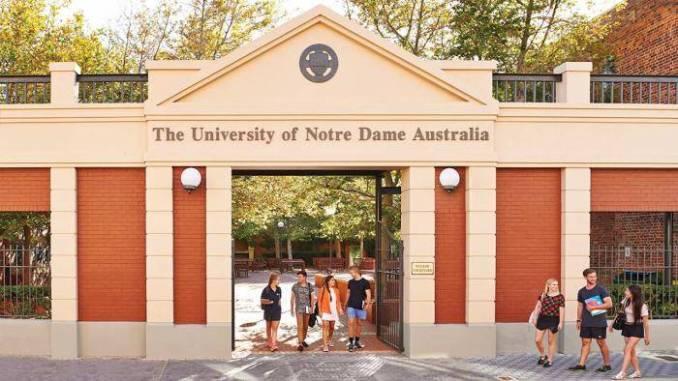 University of Notre Dame Bupa International Student Awards – Australia 2020