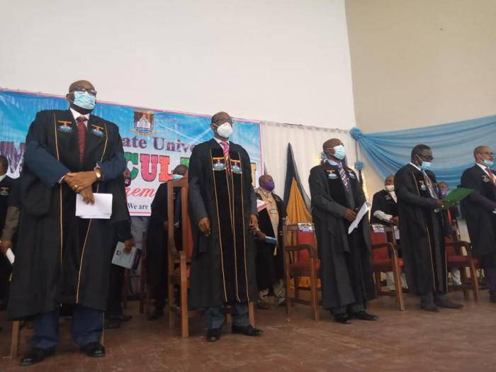 Photos from LASU Virtual Matriculation Ceremony