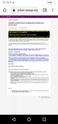 UNIBEN extends Post-UTME registration for 2020/2021 academic session