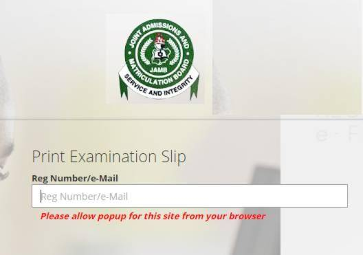 JAMB 2019 Exam Slip Reprinting Begins March 2nd