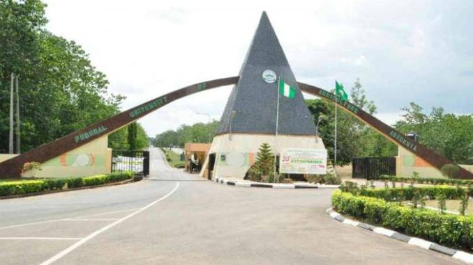 FUNAAB 2nd Admission List for 2019/2020 Academic Session