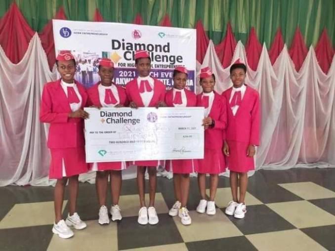Queen of rosary college Onitsha, emerge as winners of University of Delaware's global challenge