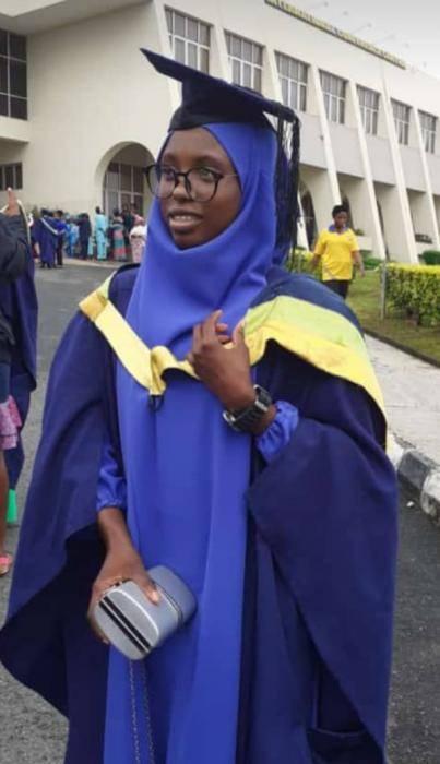 Owolabi Habeebah Olayinka Graduates With A 7.0 CGPA From UniIbadan