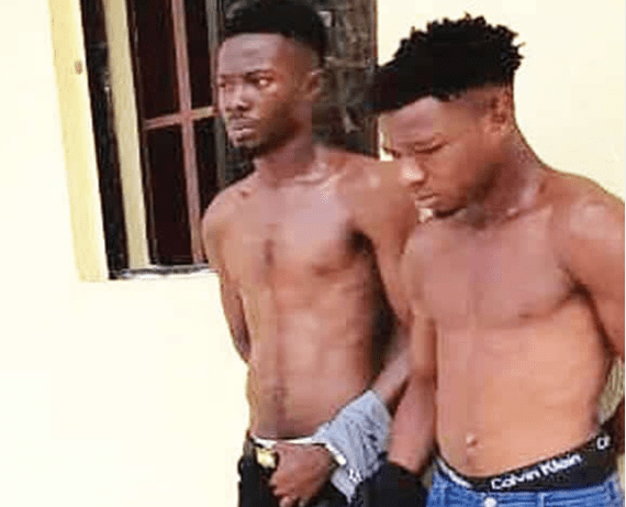 Two robbers arrested for snatching UNICAL student's phone