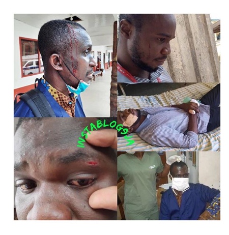 Ghanaian WAEC Invigilators Beaten Mercilessly by Students Over Strict Supervision