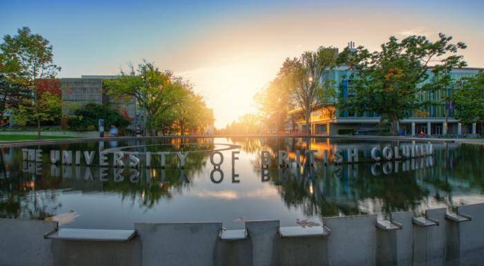 2021 Outstanding International Student (OIS) Award At University of British Columbia Canada