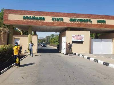 ADSU fumigates hostels and classrooms ahead of esumption