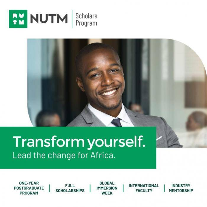 Fully-Funded NUTM Scholars Program For Nigerian Students 2020