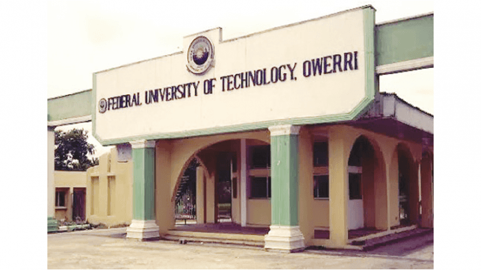 FUTO Supplementary Admission For 2019/2020 Session (Updated)