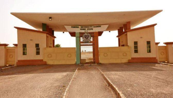 FUKashere Admission List, 2018/2019 Out