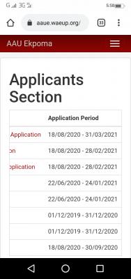 AAU extends post-UTME/DE registration deadline for 2020/2021 session