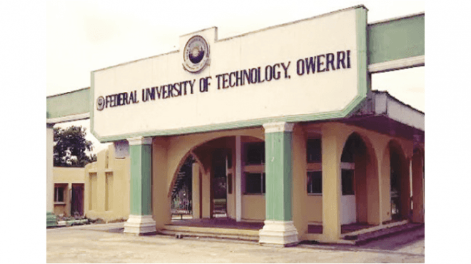 FUTO Admission List, 2018/2019 Out