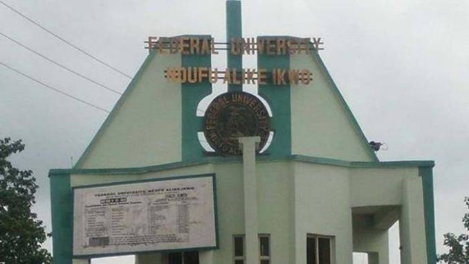FUNAI Post-UTME Screening Into Faculty Of Law For 2019/2020 Session (Updated)