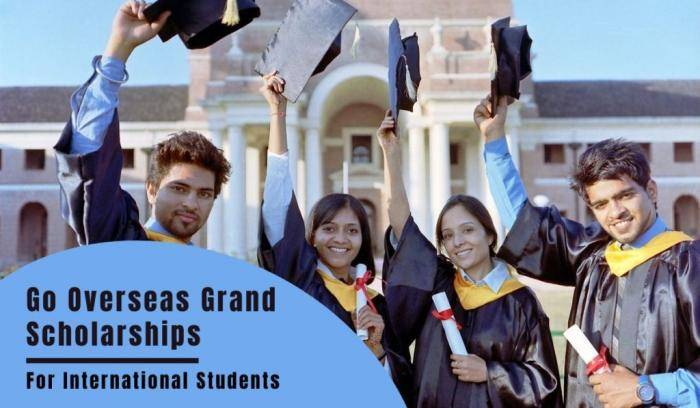 Go Overseas Grand Scholarships 2021 for International Students - Ireland