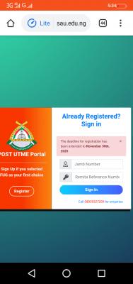 FUGUSAU extends Post-UTME registration deadline for 2020/2021 session