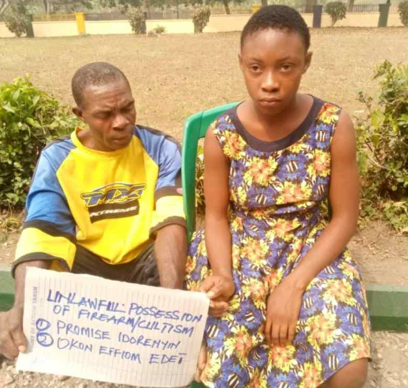 Schoolgirl who took a gun to school confess to having gotten it from her married lover