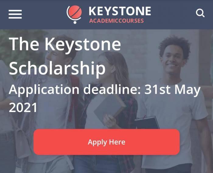 2021 Keystone Scholarships for International Students