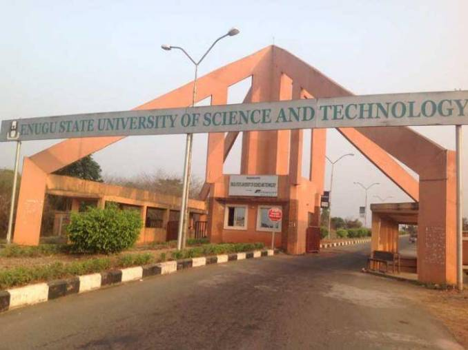 ESUT admission into undergraduate mature students' programme for 2020/2021