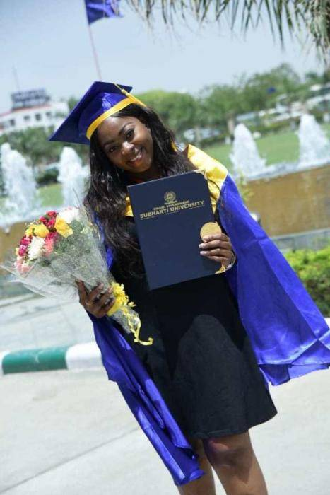 Nigerian Lady Bags Record-breaking First Class in Indian University