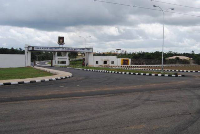 OSUSTECH School Fees Schedule, 2018/2019 Session