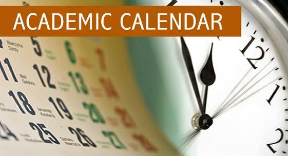 RUGIPO Academic Calendar For 2018/2019 Session