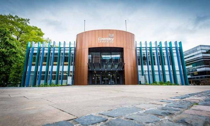 2021 Data Science International Scholarships at Coventry University, UK