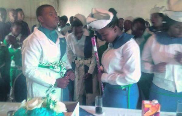 16-Year-Old Boy Marries 15-Year Old Girlfriend in South Africa