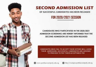 Elechi Amadi Polytechnic 2nd batch Admission List 2020/2021 session