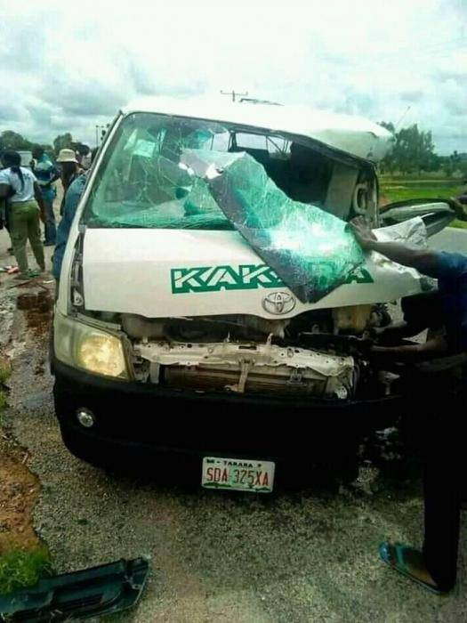 Taraba Corps Member Dies in Fatal Motor Accident, 19 Others Injured (Graphic)