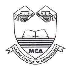 Malawi College of Accountancy Application Form Intake 2019