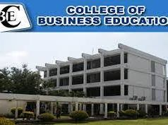 College of Business Education Application Form