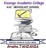 Kisongo Academic College Application Form