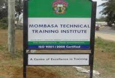 Mombasa Technical Training Institute Admission List