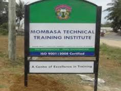 Mombasa Technical Training Institute Admission List