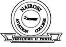 Nairobi Aviation College Admission List