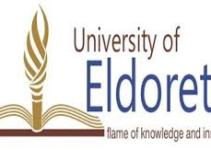University of Eldoret Admission List