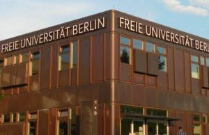 2017 Post-Doctoral Fellowships At Freie Universität, Berlin