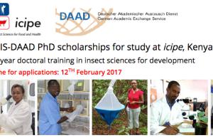 2017 ARPPIS-DAAD Scholarships For Developing Countries - Kenya