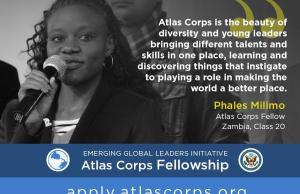 2017 Atlas Corps Fellowship For Young Leaders - USA