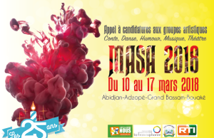 2018 Market For African Performing Arts (MASA) Festival, Abidjan, Ivory Coast : A Call For Application