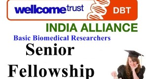 India Alliance Intermediate Research Fellowships - India