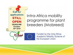 MoBreed Intra-Africa Mobility Scholarships For Plant Breeders In Africa