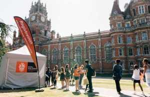 International Physics Bursaries At Royal Holloway, University Of London