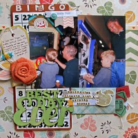 Budget Scrapbooking with Double Sided Papers, Part 2