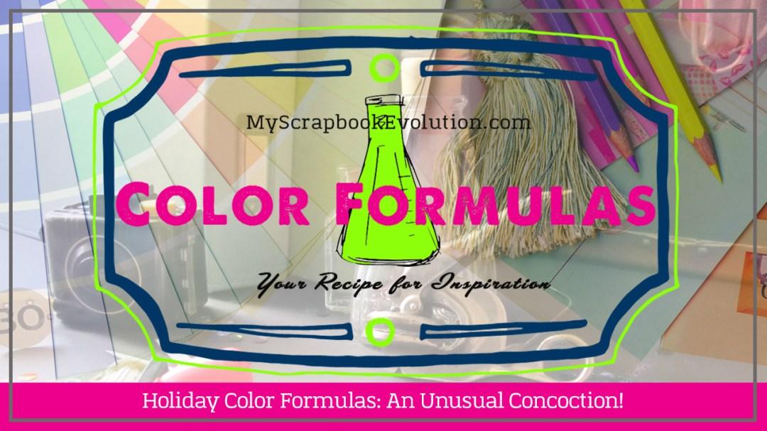 Holiday Color Formulas An Unusual Concoction!